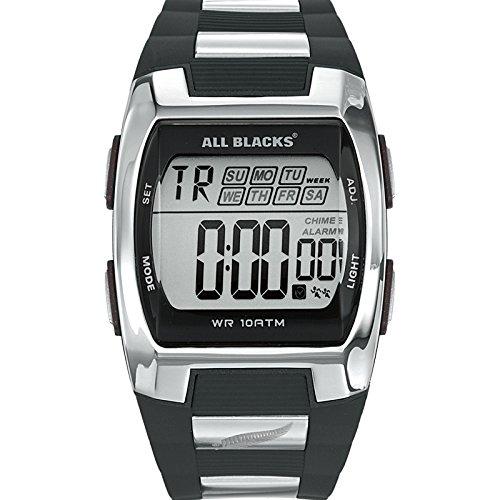All Blacks Reloj Digital de Cuarzo para Hombre con Correa de Plástico – 680023
