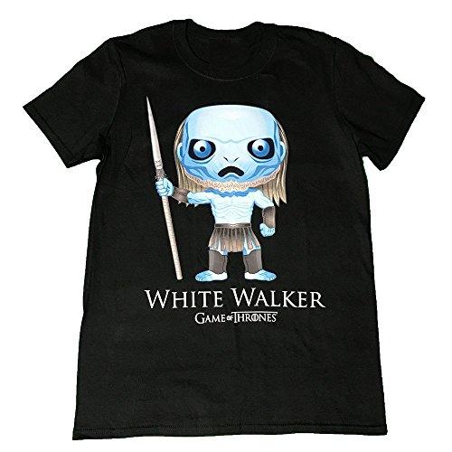 Game Of Thrones - White Walker Pop Art - Official Mens T Shirt