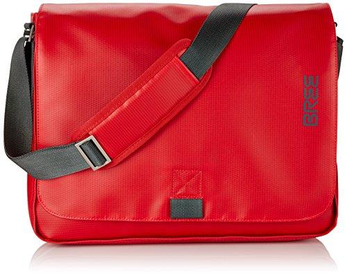 Rote Damen Aktentasche (BREE 83152049 Punch Umhängetasche, Rot)
