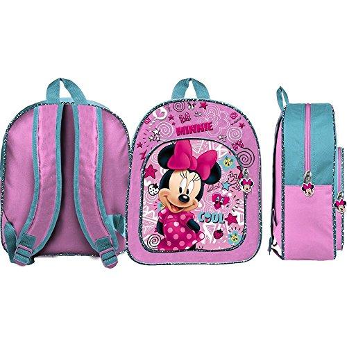 Zaino minnie disney borsa asilo bambina scuola cm.32 - 42945