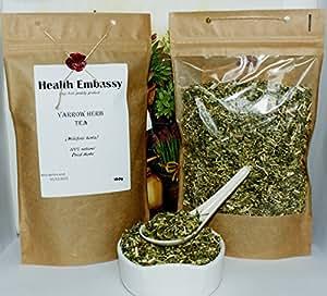 Achillea Erba ( Millefolii Herba - Achillea millefolium L. ) 100g / Yarrow Herb Tea 100g Health Embassy 100% Natural