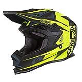 O'Neal 7Series Strain Motocross Helm MX Offroad Enduro Quad Cross Trail Motorrad, 0583, Farbe Neon Gelb, Größe XL