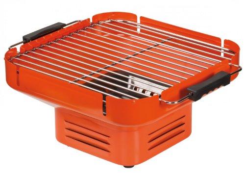 Heat Turnon bbq2go–Grill, Grill, Holzkohle Grill, orange, quadratisch, 320x 320mm)