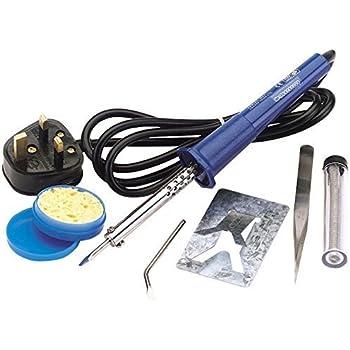 Draper 61257 230V 25W Soldering Iron Kit, 25 W, Blue