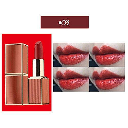 Lipgloss,Rabatt,PorLous 2019 Beliebt 1 Stücke Lippenstift Feuchtigkeitscreme Samt Lippenstift Makeup Beauty Makeup Feuchtigkeitsspendend 3