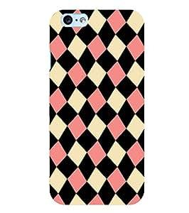 Citydreamz Colorful Squares Hard Polycarbonate Designer Back Case Cover For Apple Iphone 6 Plus/ 6S Plus