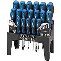 Draper Tools 865/44 44PC S.Driver Set+Stand Blue