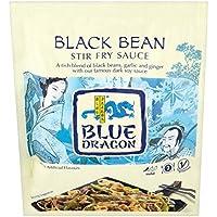 Blue Dragon Frijol Negro Salsa De Salteados 120g (Paquete de 6)