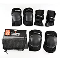Venom Skateboards/Skating Triple Knee/Elbow/Wrist Pad Set - Junior