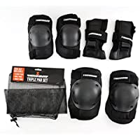 Venom Skateboard/Skating Triple Knee/Elbow/Wrist Pad Set - Junior by Venom