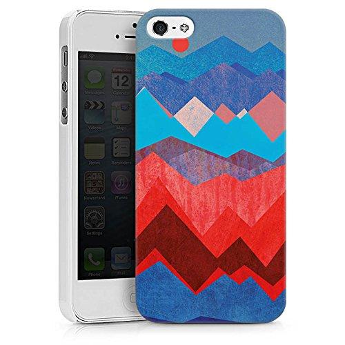 Apple iPhone X Silikon Hülle Case Schutzhülle Berge Muster Sonne Hard Case weiß