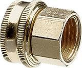 Nelson Industrie Messing Rohr und Schlauch Fitting mit Ein Drehgelenk für 1/2Zoll Stecker NPS auf Stecker Schlauch, Double Female 50575
