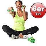 3 Paar Togu Brasil Massageball Igelball Noppenball Selbstmassage Reha grün