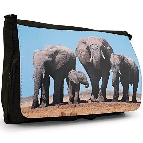 Fancy A Bag Borsa Messenger nero Elephant Elephant