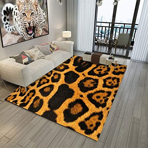 Hao_zhuokun Nueva 3D Área del Animal de Piel Alfombra de Cuero de Vaca/Piel de Leopardo de impresión/Serpiente de Alfombra de Piel de la Piel/de Cebra y alfombras Salón Dormitorio Decoración