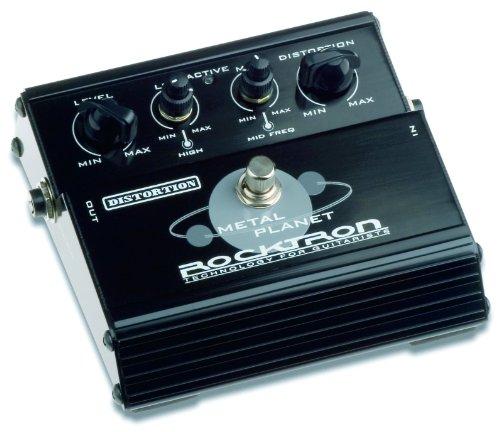 ROCKTRON PLANET DISTORSION PEDAL DE METAL 40 X REFERENCIA POR WORLD GUITAR MAGAZINE