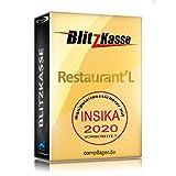WIN Kassensoftware BlitzKasse Restaurant L für Gastronomie. 75 Tische, 3 Bondrucker. GDPdU GoDB KONFORM