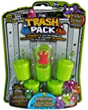 The Trash Pack Serie 1 - 5er Pack mit 5 Müllmonstern (willkürlich) und 5 grünen Tonnen
