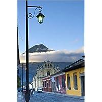 Stampa su tela 80 x 120 cm: La Antigua Guatemala
