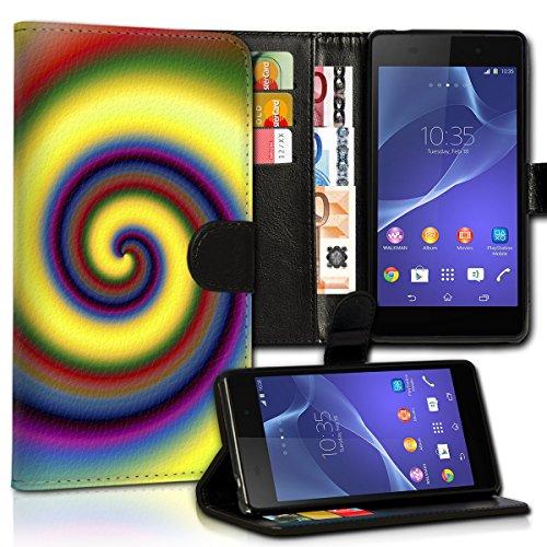 Book Style Samsung Galaxy S7 Edge SM-G935 Premium PU-Leder Tasche Flip Brieftasche Handy Hülle Kartenfächer mit Standfunktion für Samsung Galaxy S7 Edge SM-G935 - Variante UMV45 Design11