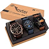 #8: Foxter Attractive Stylish Combo Watch - For Boy's and Men's