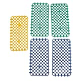 Sharplace 5 Stück Loch Matte Fußmatte Pad für Kleintiere/Kaninchen / Meerschwein/Frettchen Käfig, 29x15x0,5cm