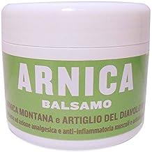 Balsamo Arnica 10% e Artiglio del Diavolo 10% - Crema Arnica e Artiglio del Diavolo Antidolorifica Antinfiammatoria - Linea Fitoterapica Naturale Letizia&Salute - 125 ml