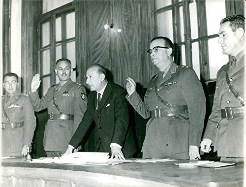 vintage-photo-of-vintage-photo-of-officers-with-their-hand-raised-as-to-pledge-photo-taken-on-nov-7-