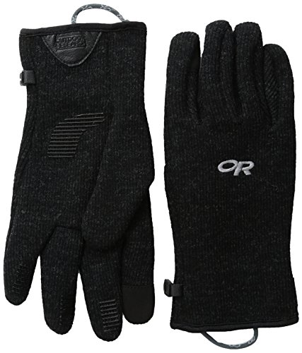 Outdoor Research Herren Handschuhe Flurry Sensor, Herren, Men\'s Flurry Sensor Gloves, schwarz, Medium