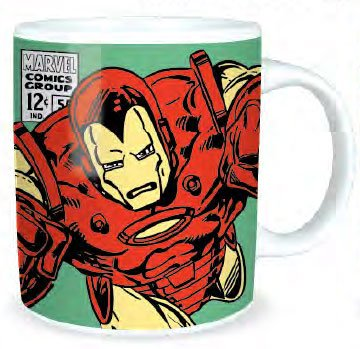 Marvel Comics Iron Man Boxed Mug Shield Logo ceramica Merchandise