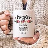 Die besten preceptors - Preceptor Mug Preceptor Gift Preceptor Coffee Mug Preceptor Bewertungen
