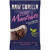 Raw Gorilla Cacao & Lucuma Munchies 40g (Pack of 10) by Raw Gorilla