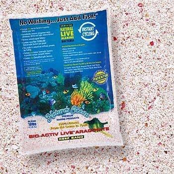 WORLD WIDE IMPORTS ENTERPRISES Bio–Aktiv Live Aragonit Pink Samoa Reef Sand 9,1kg (2pc)