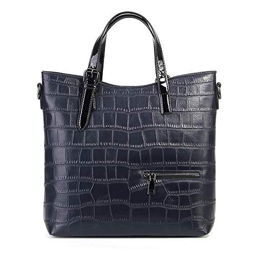 Kieuyhqk Damen Damen Leder Top Griff Handtaschen Schulter Crossbody Tasche mit abnehmbaren verstellbaren Riemen für die Arbeit aus täglichen Frauen Casual Handtasche Schulter-Handtasche