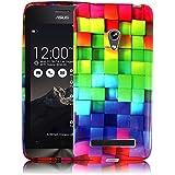 Asus Zenfone 5Funda de silicona de móvil suave funda Cover Case Bumper Funda Flip Smartphone Funda BackCover thematys®