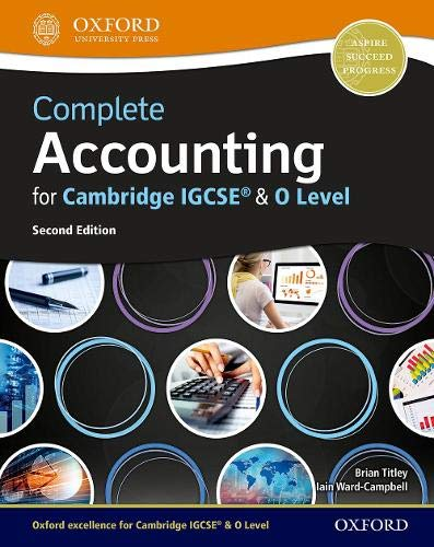 Complete Accounting for Cambridge IGCSE® & O Level