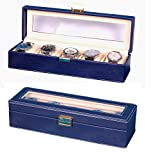 #9: Hardcraftâ® Brown Watch Case For 5Watches 5Wch11Blu