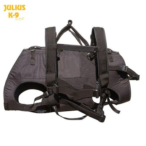 Produktbild bei Amazon - Julius K9 Abseil und Tragegeschirr für Hunde, Größe:M