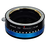Fotodiox Pro Adapter mit Iris Contax N(Iris) für Fujifilm X (X-Mount) Kamera - Fotodiox Pro Lens Mount Adapter with Iris,Contax N(Iris) to Fujifilm X (X-Mount) Camera Body, for Fujifilm X-Pro1, X-E1