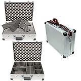 TS-Optics FOTO-KOFFER Alu-Koffer mit Rasterschaumstoff und 5 Trennstegen ca. 46x33x15cm