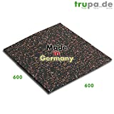 Qualitativ hochwertige Antivibrationsmatte 60 x 60 cm made in Germany