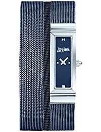 Reloj mujer JEAN PAUL GAULTIER–Cote de malla–pulsera acero Mesh Azul–33* 13,5mm–8503904