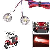 #8: Vheelocityin Mini Flasher Bike/ Motorcycle/ Car Flasher LED Light - Red
