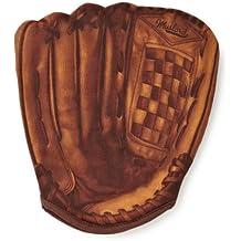 MUSTARD - Home Run Oven Mitt I Hitzebeständiger Ofenhandschuh I Handschuh für Ofen I Hundschuh zum Kochen, Backen, Grillen I Besonderer Topflappen I Lustiges BBQ-Zubehör I Baseball -Handschuh - Braun