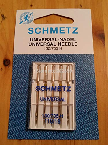 Cushy SCHMETZ UNIVERSAL Nadel, 130 / 705H, 10Pcs Nadeln (2 Packungen) / Lot, Haus Nähmaschine Teile, für Janome, Bruder, Sänger, Bernina: 60 8