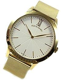 Pierre Cardin Uhr Classic gold Römisch Milanaise moderne Herrenuhr PC105311S09