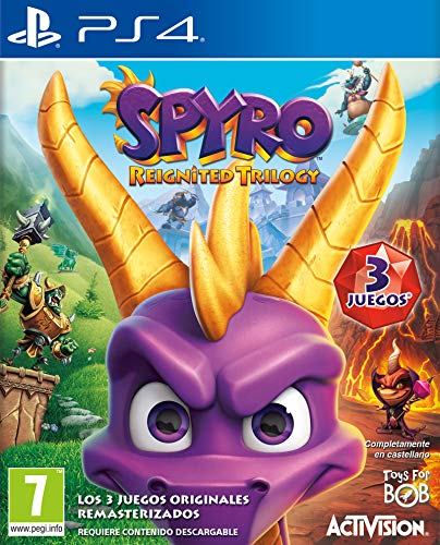 Spyro: Reignited Trilogy (precio: 34,90€)
