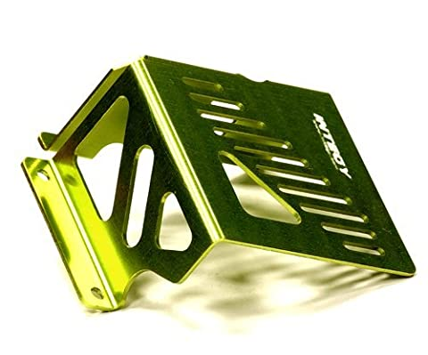Integy Hobby RC Model T6932GREEN Alloy Fuel Tank Guard for HPI Savage XL
