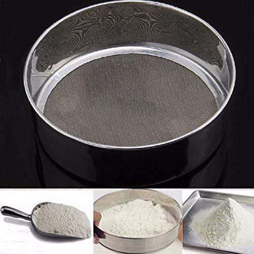 Qfyuteop2018 in acciaio inox maglia di alta qualità farina setacciare setaccio setaccio setaccio torta di cottura utensili da cucina per la casa nuovo arrivo