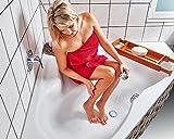 foto-kontor Anti-Rutsch-Aufkleber für Dusche und Badewanne Transparent Selbstklebend Sicherheit Sticker 28 Stück